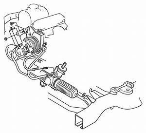 2009 Dodge Journey Hose  Power Steering Return  Nhf