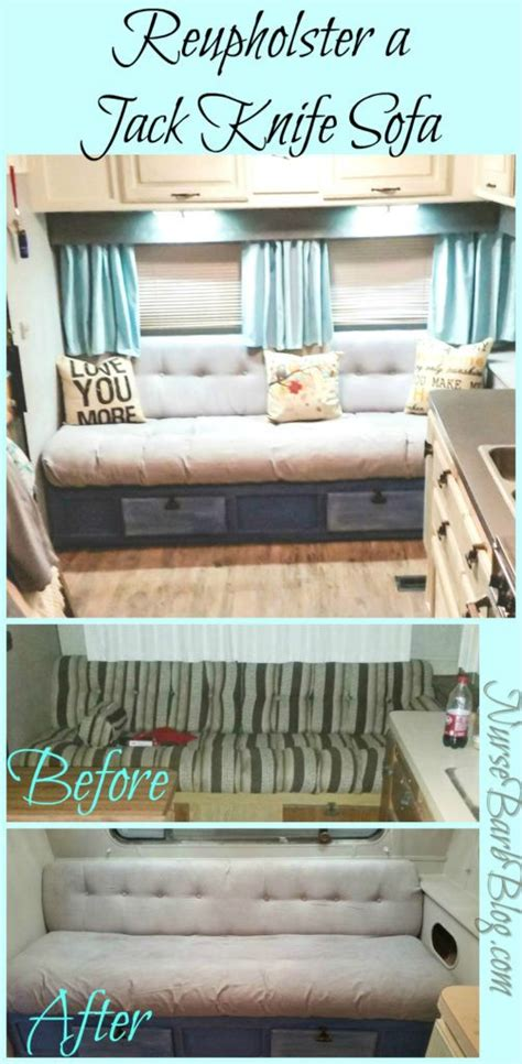 Reupholster Rv by Gler Rupholstering Your Knife Sofa Complete
