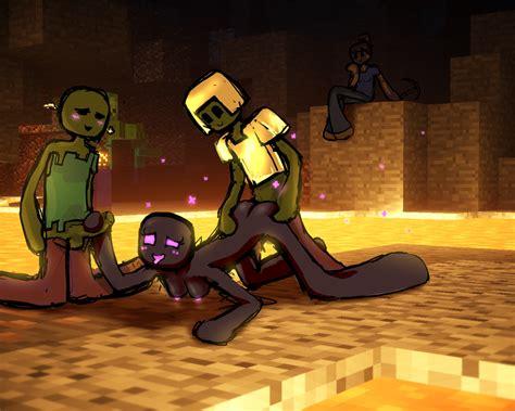 image 1730105 enderman minecraft steve qwertyas1 zombie