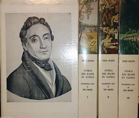 libreria scientifica napoli storia reame di napoli by pietro colletta libreria