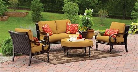 Better Homes And Gardens Englewood Heights Replacement Cushions better homes and gardens englewood heights 4 patio