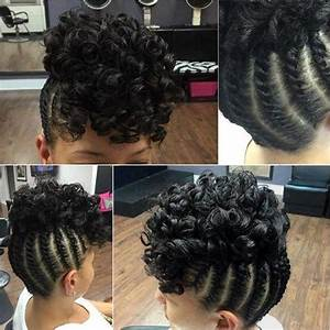 45 Easy and Showy Protective Hairstyles for Natural Hair Black hair, Updo and Curly