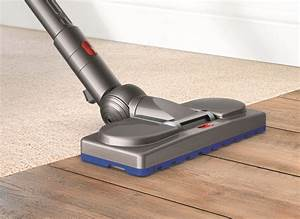 dyson39s cinetic big ball vacuum can39t be knocked over With brosse parquet dyson