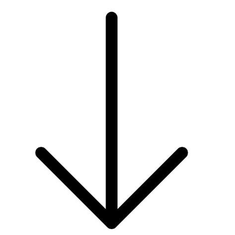Nach Unten by Pfeil Nach Unten Symbol Kostenlos Sheet Icons