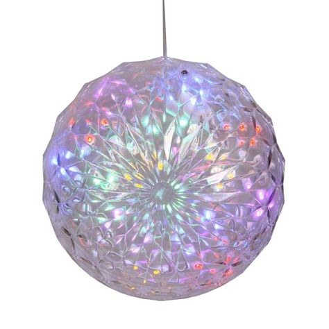 outdoor lighted christmas ornaments 30 led lights lighted pre lit hanging ornament ball