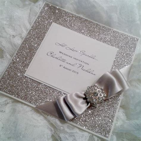 crystal couture wedding stationery wedding invitations