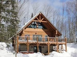 chalets a louer et chalets a vendre au quebec en ontario With exceptional maison en bois quebec 1 au chalet en bois rond chalets quebec ville et region