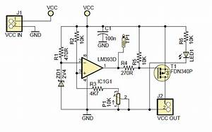 5v Power Supply Voltage Monitoring Circuit