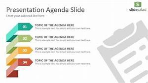 Agenda Diagrams Google Slides Presentation Template