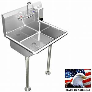 Hand Sink Manual Faucet 24 U0026quot  Single User 1 Person Heavy