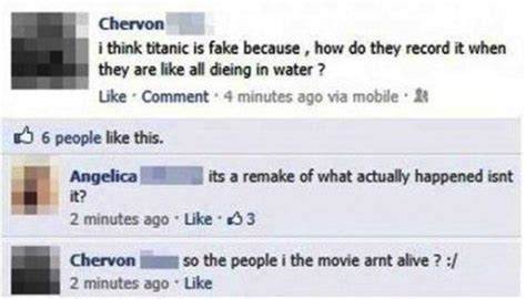 The Dumbest Facebook Status Updates Of All Time - 35 Pics