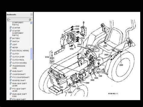kubota ldt lf  dt  tractor parts manuals