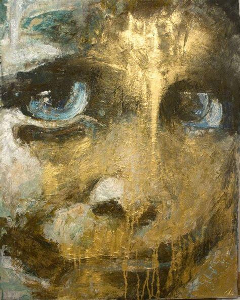 ot abstrakt gold vanessa uher figural von kunstvibe
