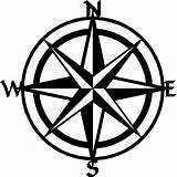 Compass Nautical Line Clipart Drawing Clip Getdrawings 1736 sketch template