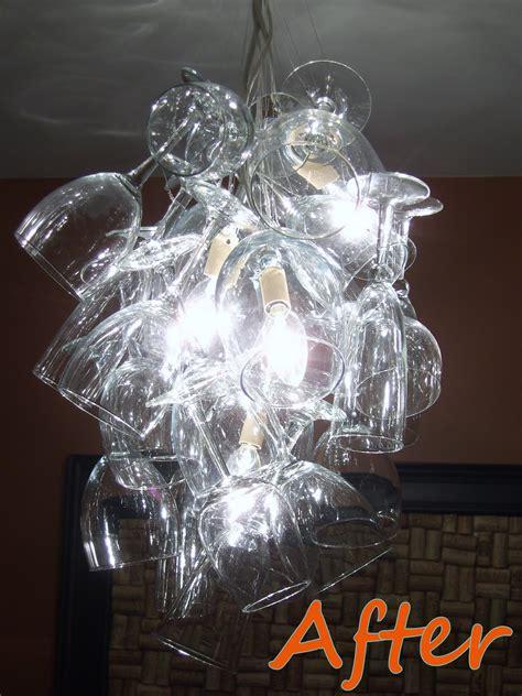 diy glass chandelier remodelaholic diy drum shade chandelier