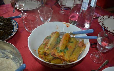 courgettes farcies recette libanaise mouna cuisine