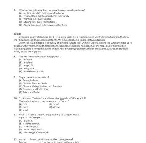 Soal bahasa inggris kelas 1 sd. Soal Bahasa Inggris Tes Polisi - Guru Galeri