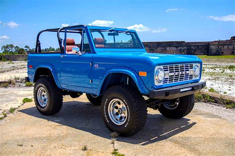 ford bronco restoration   wanting  rob  bank