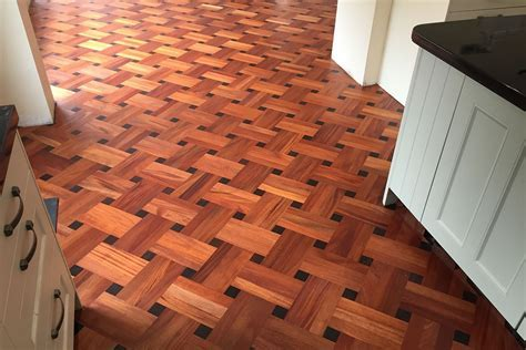 Herringbone Cherry Engineered Wood Flooring   Carpet