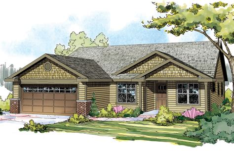 style home designs landscaping for craftsman style homes house design plans