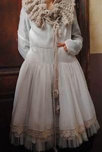 Mlle ondeline une robe romantique ecrue dentelle et for Robe romantique dentelle