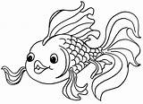 Coloring Fishing Rod Pages Fish Printable Getcolorings sketch template