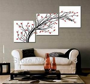 Diagonal wall art set piece modern