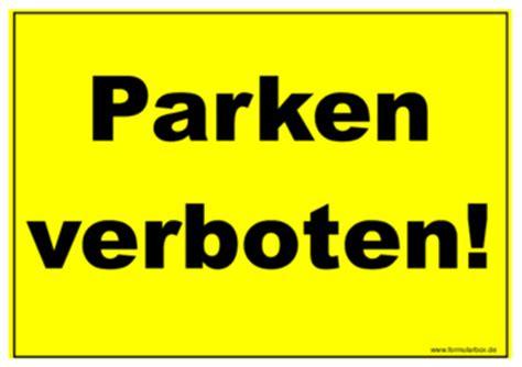 schild parken verboten schild parken verboten vorlagen und muster zum ausdrucken