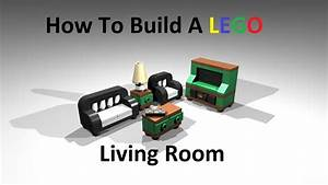 How to Build A Lego Living Room Custom MOC Instructions ...