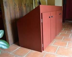 placard sous pente meubles en carton angers With meuble sous pente