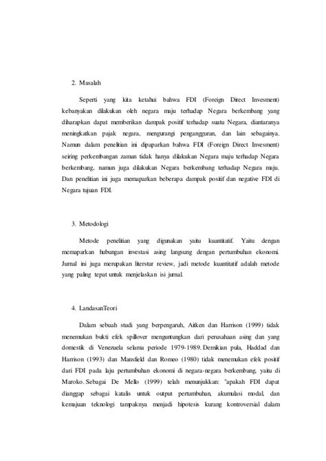 Contoh critical review jurnal asing
