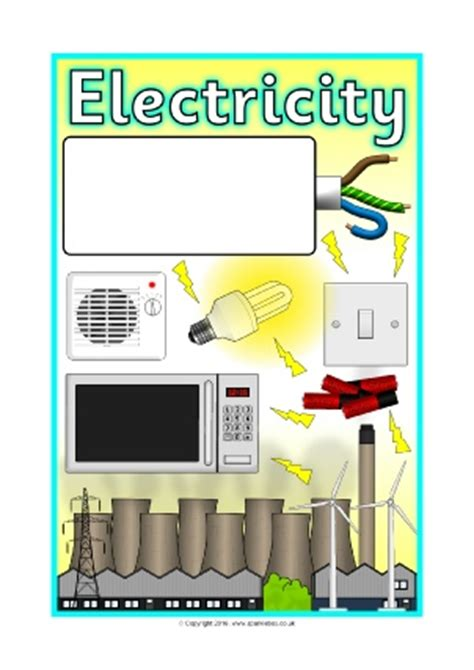 electricity primary teaching resources  printables