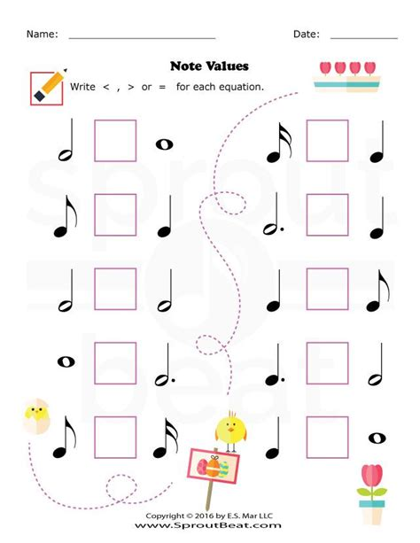 19 best note value worksheets ed and