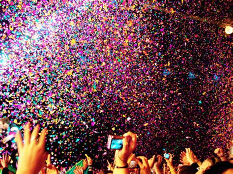 in color concert colour concert confetti new year image 133904