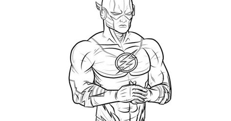 The Flash Coloring Page  Coloring Page The Flash