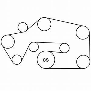 Lincoln Ls Belt Routing Diagram From Best Value Auto Parts