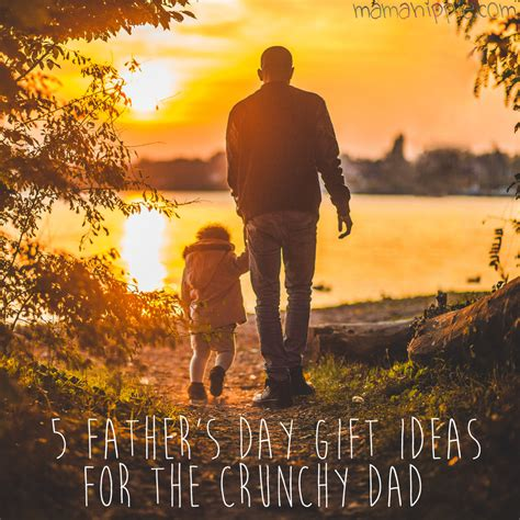 It recognizes the role that a father plays in building the family as well as the influence and contribution of father's to society. 5 Father's Day Gift Ideas for the Crunchy Dad - Mama Hippie
