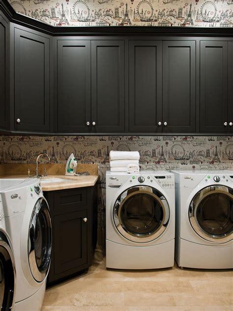 decor  storage tips  basement laundry rooms hgtv