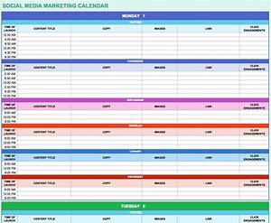 marketing calendar excel calendar template excel With campaign schedule template