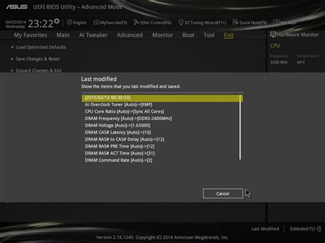 Asus Modified Bios Repository asus z97 deluxe bios asus z97 deluxe nfc wlc review
