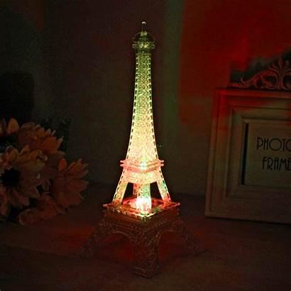 Tower Eiffel Lamp Bedroom Decor Gifts Paris