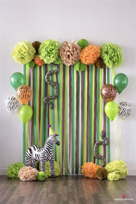 jungle birthday party ideas inspiration