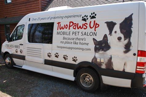 Mobile Groomers by Two Paws Up Mobile Pet Salon Pet Sitter Other Pet Biz