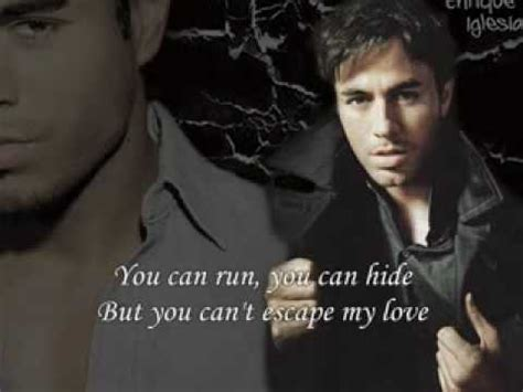 Escape - Enrique Iglesias (with lyrics)(mj@memyself.in ...