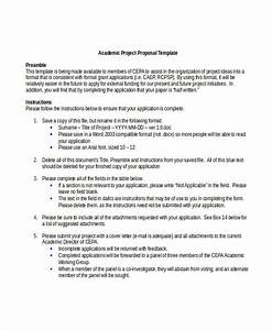 word templates program 8 academic proposal templates word pdf free