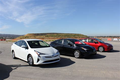 2016 Toyota Lineup by 2016 Toyota Prius Lineup Milesperhr