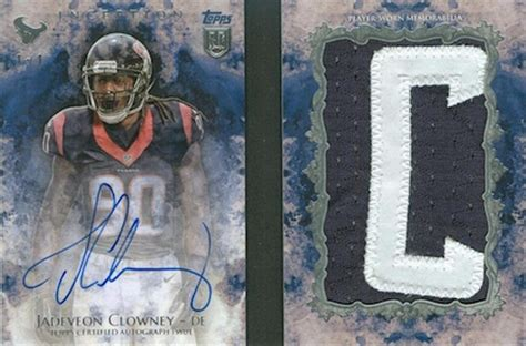 topps inception football checklist set info boxes