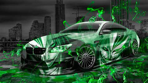 bmw  hamann tuning anime bleach aerography city car