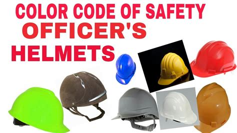 Maybe you would like to learn more about one of these? Hard hat color code   safety helmet color code   SAFETY MGMT STUDY - YouTube