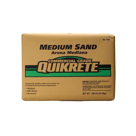depot quikrete quikrete 100 lb sand 196201 the home depot Home